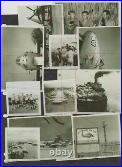 11 OLD photos 77 SQN RAAF Korean War Australia Gloster Meteor fighters nose art