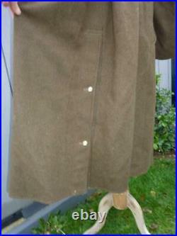 1940 Pattern Dismounted Pattern Korean War British Army Military Greatcoat