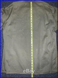 1941 ORIGINAL USMC HBT P41 Utility JACKET shirt WW2 Korean War Rare Excellent