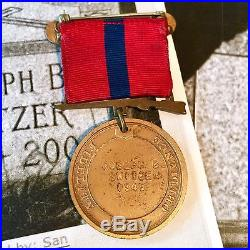 1945 Named Wwii Marine Corps Good Conduct Medal Joseph B Switzer Ww2 Korean War