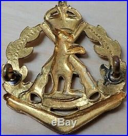 1948-1953 Korean War Army Royal Australian Regiment Uniform Badge Scarce