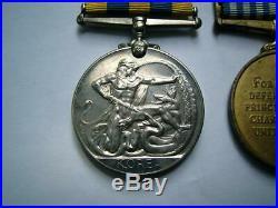 1950-53 British Korean War & UN medal pair DRIVER J JOYCE Royal Signals Army
