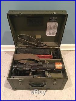 1950 Infrared Sniperscope Korean War Night Vision Telescope with Power Supply