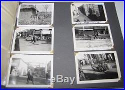 1950's US ARMY SOLDIERS Occupied Japan Korea WWII KOREAN WAR ERA PHOTO ALBUM