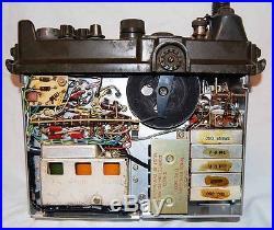 1950's US Army Korean War RADIO RCVR-XMTA 175A PRC9 Hand Antenna's Canvas Bags