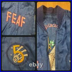 1950s 5th Air Force Korean War Reversible Bomber Jacket with Lighter & Provenance