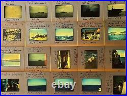 1950s Korean War Era US Navy Army Soldiers Personal Lot 100 Red Line Slides