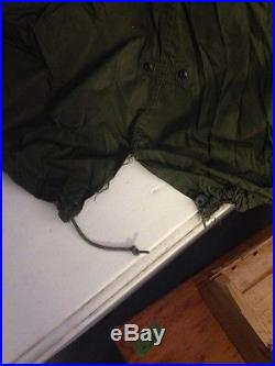 1951 Fishtail Parka with Liner U. S. Army Korean War M