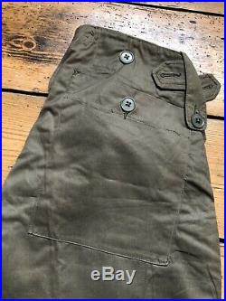 1951 Pattern British Army Cold Weather Trousers Korean War Mint Condition