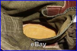 1951 Size 7 D International Shoe Co. Boots Korean War Military Army WW2 Jungle