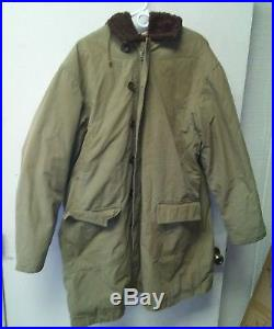 1951 military Korean War ERA Parka jacket with fur liner