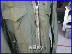 1952 Korean War M-51 Field Jacket, LONG SMALL, Excellent M-1951 Coat