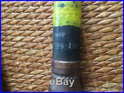 1953 KOREAN WAR 20mm PRACTICE ARTILLERY SHELL INERT DISPLAY