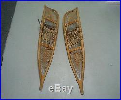 1953 Korean War US Army Snowshoes Matching Pair Serial Number Maker