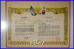 1954 Set Of 5 Original Korean War Letters Army Headquarters Americana Ephemera
