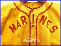 1955 Korean War Softball Jersey USMC Marine Corps
