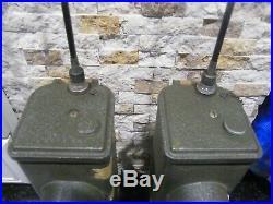 2 WWII Korean War Signal Corps US Army JBC-611-F Radio Transmitter Receivers
