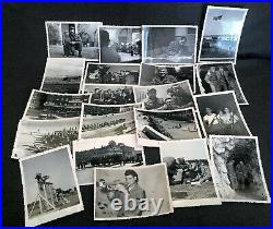 20 Military Korean War Era Photograph Snapshot Collection Helicopter Music Party