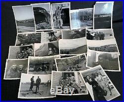 20 Military Korean War Era Photograph Snapshot Collection Plane Radio Equipment