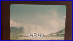 210 Red Border Kodachrome Korean War Military US Army Slides USO 158th Field