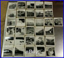 225 Korean War Army Photo Collection 185 Engineer Combat Battalion 1950-53 Album