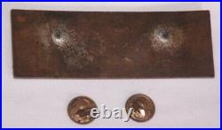 2nd Btn 38th Infantry Regiment Enameled Badge -Korean War- Blue Enamel Pin Back