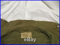 40s Vintage WWII Korean War M-1943 Army Field Military Coat Jacket Size 34R