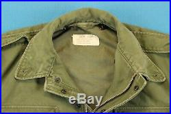 50s KOREAN WAR Vintage Coat Men S M-1951 Field Jacket Small Short M-51 Vietnam