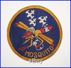 6147th Tactical Control Group Mosquito Air Force Korean War Squadron Patch C1121
