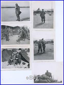 70+ B&W PHOTOS With. U. S. ARMY KOREAN WAR 40th INF. DIV. 224th INF. REG. CO. K 1952