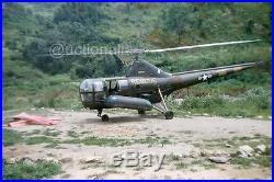 907E Orig Slide US Marines Sikorsky H-5G Rescue Helicopter Korean War Korea'52