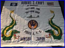 98th Bomb Group Banner B-29 Korean War 344th Bomb Squadron