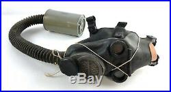 American Korean-War Lightweight Optical Gas Mask, Unissued + Face Form VTG NOS