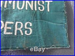 Anticommunist Troopers Patch Felt Stitched Korean War Vietnam War