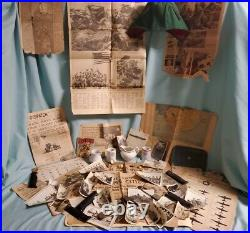 Antique Vintage U. S. Military Lot WW2 Vietnam War Korean War