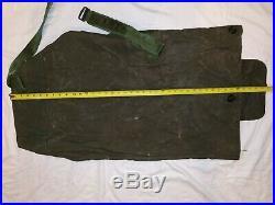 Authentic Korean War 1952 Vintage Collectible Canvas Duffel Bag Large