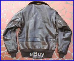 Aviators Clothing Co. Inc 55j14 G-1 1949 Model Korean War Usn Flight Jacket Build