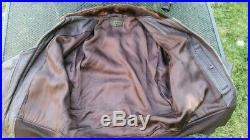 Awesome excellent SIZE 42 Korean War G-1 USN Flight Jacket CAGLECO Sportswear