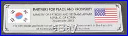 Barb Wire Fence from DMZ Special Edition 60 Years Korean War Collectible Framed