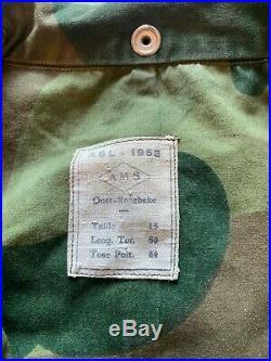 Belgian Denison Korean war Para Commando uniform MINT
