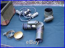Brass Keuffel Esser Military Post WW2 Telescope 5010 Western Electric Korean War