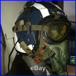 Bridges At Toko-ri USN G-1 Flight Jacket And Helmet / Korean War 55J14