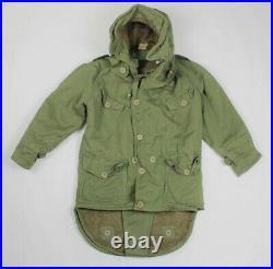 British 1950s Korean War Middle Parka With Hood
