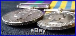 British General Service Medal & Korean War Pair R. A. M. C