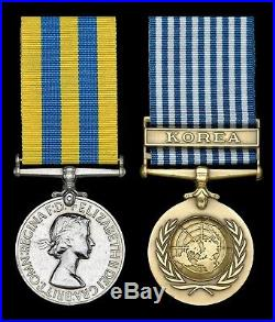 British Medal Group KOREAN WAR Medals to DEVLIN of HIGHLAND LIGHT INFANTRY Rare