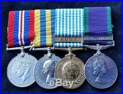 British WW2 Korean War & G. S. M. 1962 Royal Signals