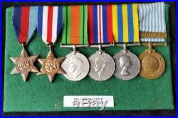 British WW2 & Korean War Group Army Catering Corps