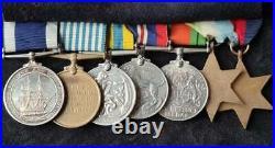 British WW2, Korean War & Royal Navy LSGC Group of Seven