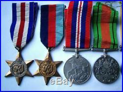 British WW2 UN Korean War General Service Malaya Palestine medals Gnnr Barnes RA