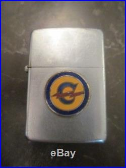 C1949 Korean War Zippo Lighter 54th Engineers Constabulary Named Military Police
